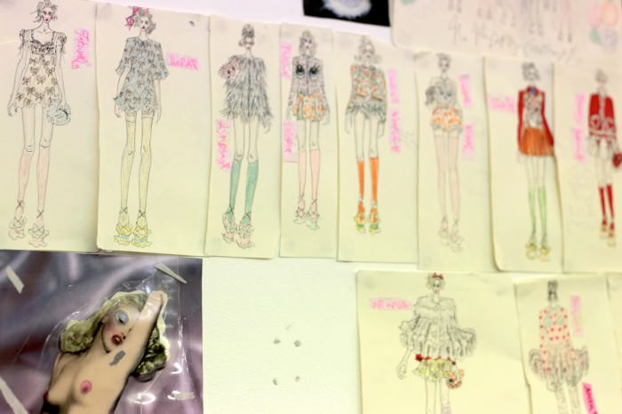 K meadham sketches 1