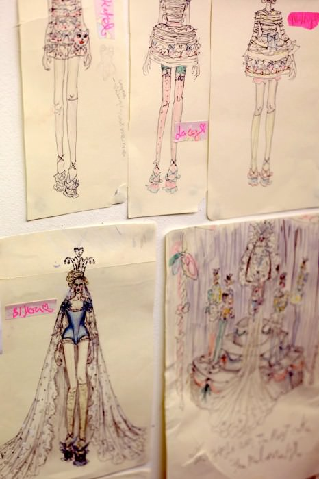L meadham sketches 2