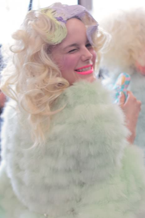 meadham backstage 38