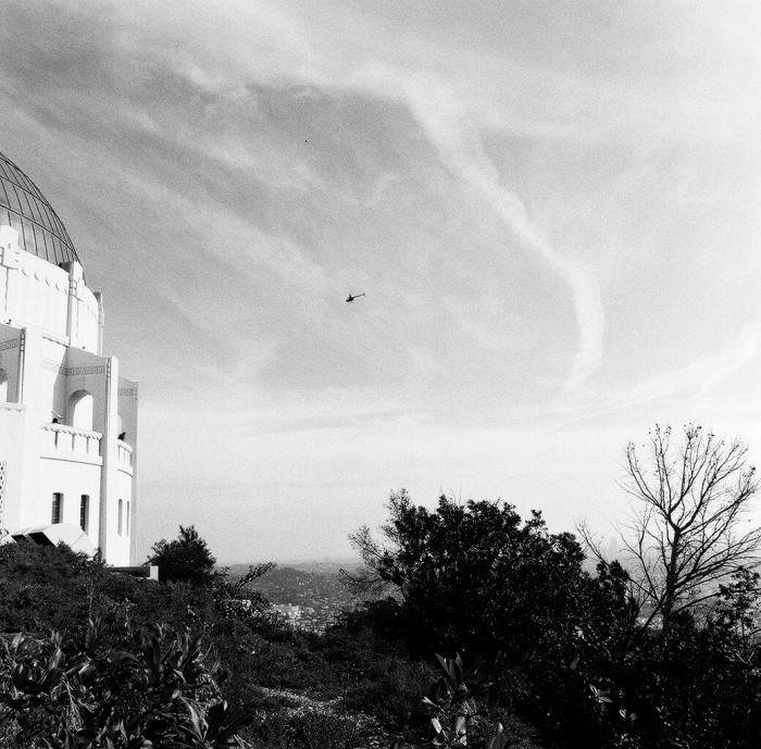 Griffith Park Observatory, where Rebel Without a Cause was filmed.