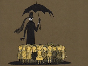 Secret Style Icon: Edward Gorey and Everyone He Has Ever Drawn