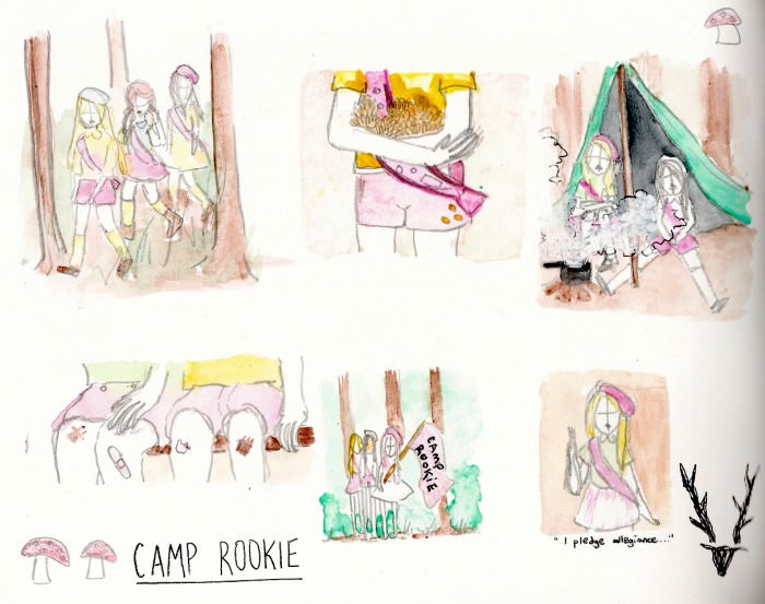 b camp rookie 00 inspiration
