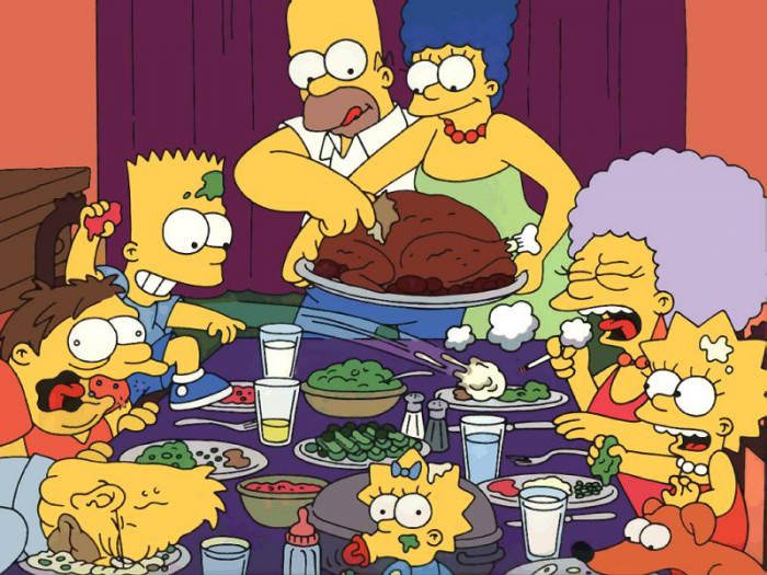 The Simpsons for Thanksgiving