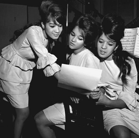 And, lastly, our heroes, the Ronettes.