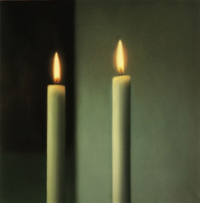 "Gerhard Richter's ""Two Candles"""