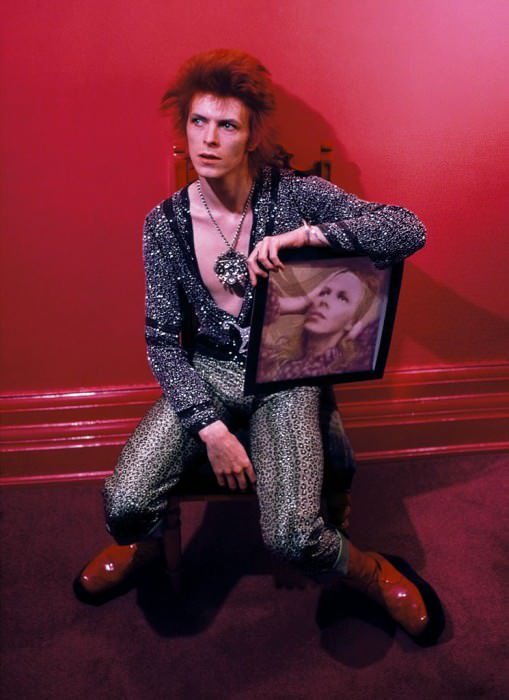 David Bowie by Mick Rock, 1972