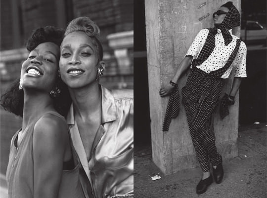 L-R: Photos by Chantal Regnault via Vogue and Scab