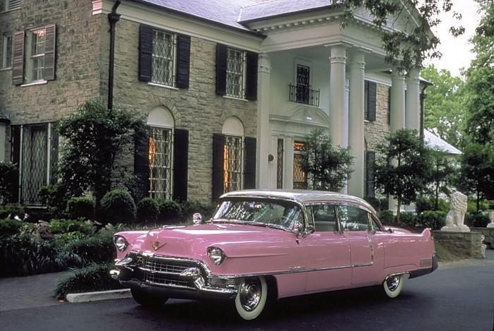 Elvis Presley's Graceland mansion