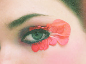 Flower-Petal Eyes