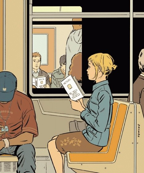 Adrian Tomine for The New Yorker