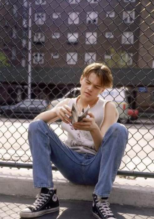 Leonardo DiCaprio in The Basketball Diaries