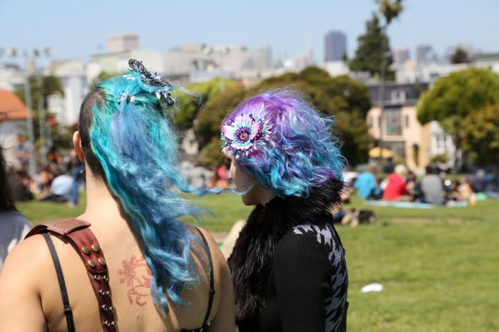 Pretty hairs in San Francisco