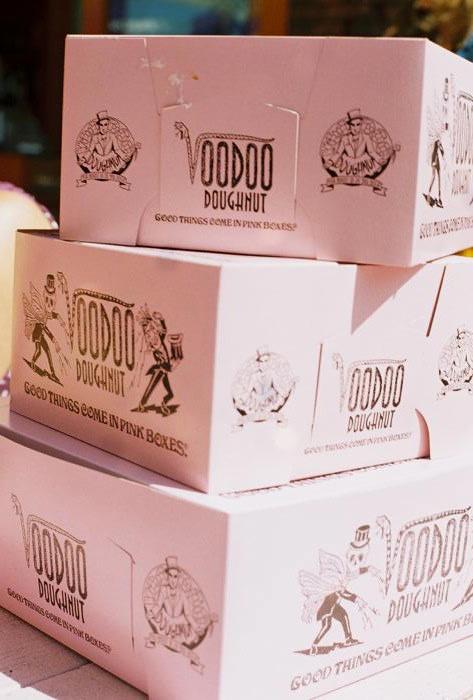 Voodoo Doughnuts in Portland.