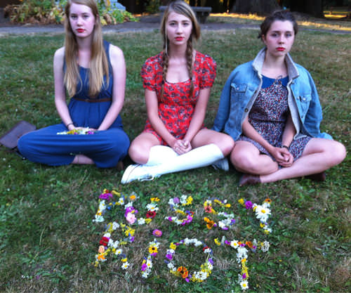Camille, Lizzy, and Izzi, Portland, Oregon