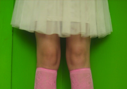 How to Turn Your Tights Into Knee Socks