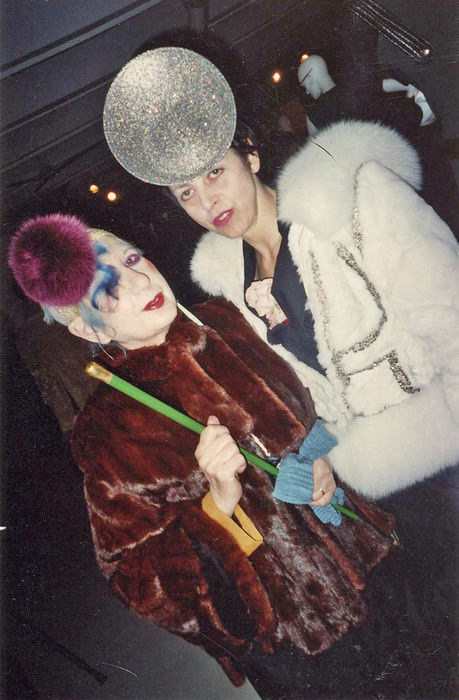 Anna Piaggi and Isabella Blow