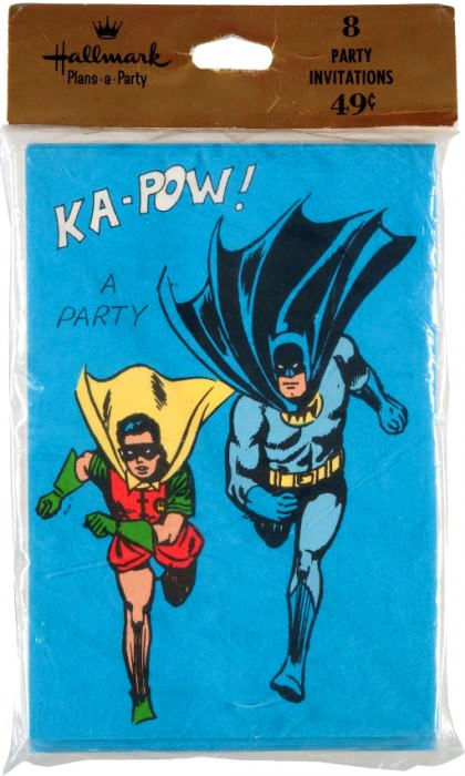 Batman Hallmark card.