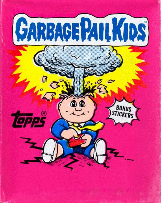 Garbage Pail Kids, the book.