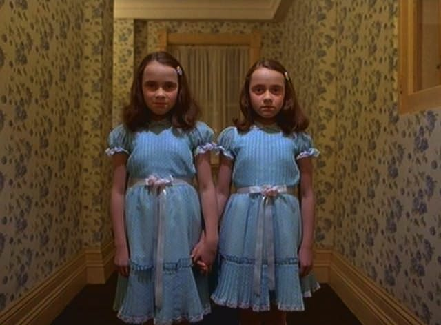 The Grady twins from The Shining.
