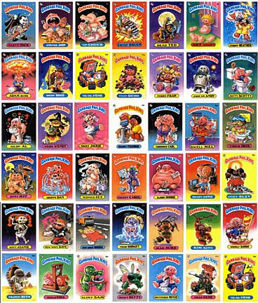 EVEN MORE Garbage Pail Kids.