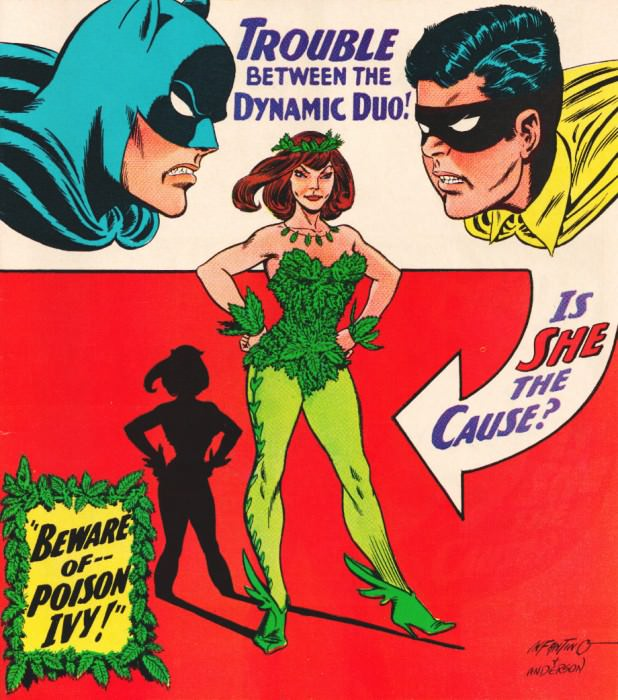 Vintage Batman ad.