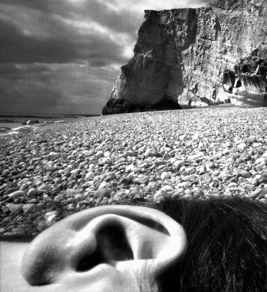 Bill Brandt, East Sussex Coast, 1967