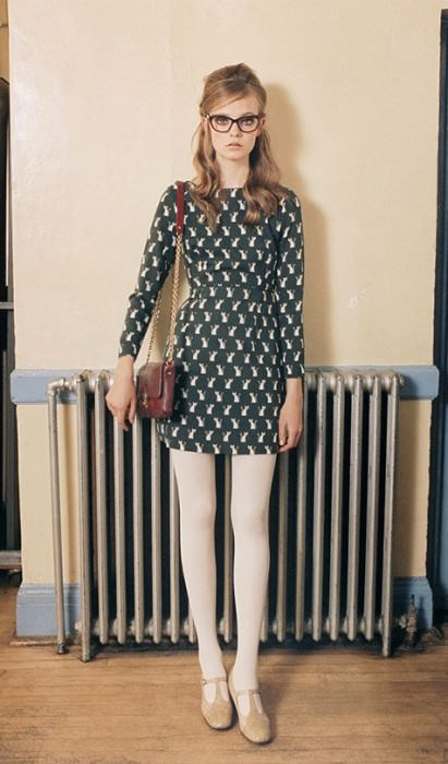 From the Orla Kiely Fall 2012 lookbook shot by Venetia Scott.