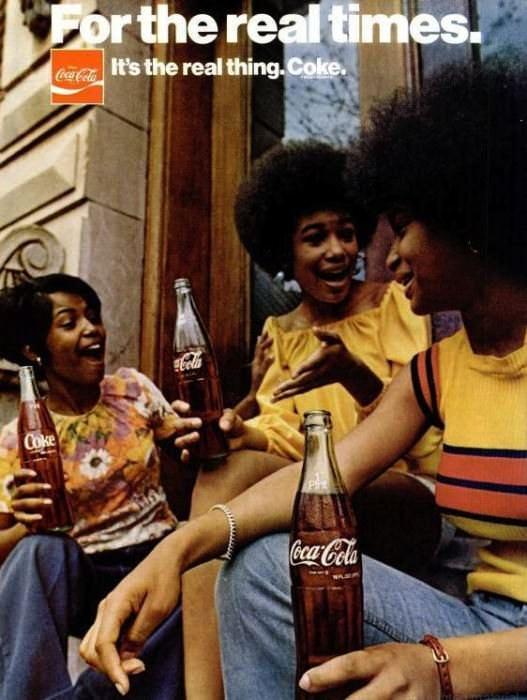 A vintage Coke ad
