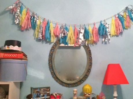 How to Make a Celebratory Tassel Garland
