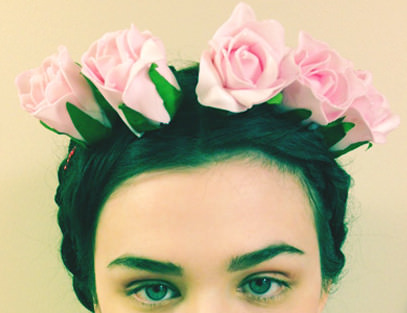 Flowery and Frida-esque