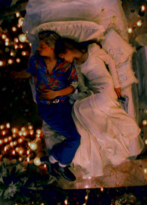 Leonardo DiCaprio and Claire Danes in Romeo + Juliet.
