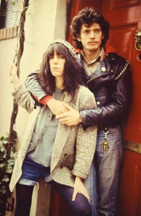 Patti Smith and Robert Mapplethorpe.