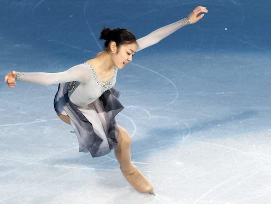 2010 gold medalist, Kim Yu-na.