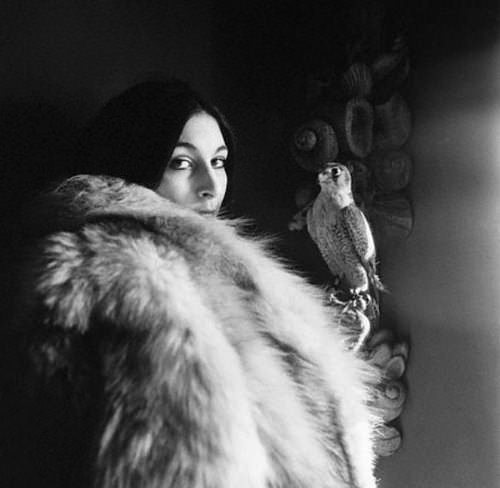 Anjelica Huston, via The Impossible Cool.