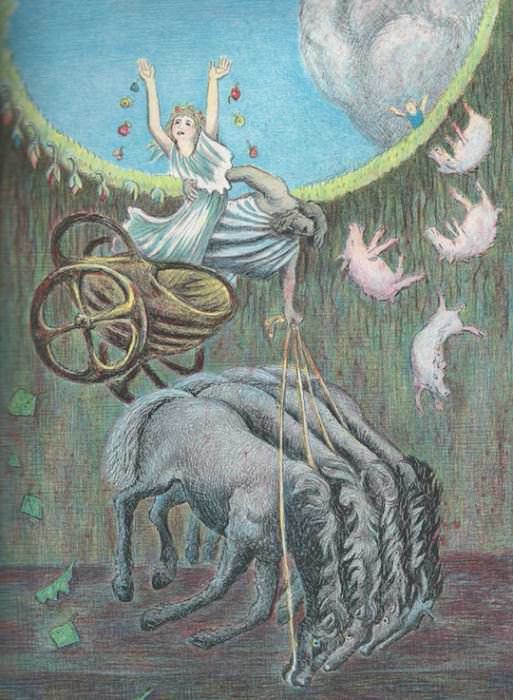 Image via D'Aulaires' Book of Greek Myths