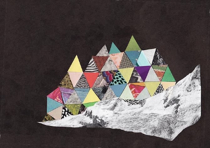 Collage by rest less, via Boule de Neige.