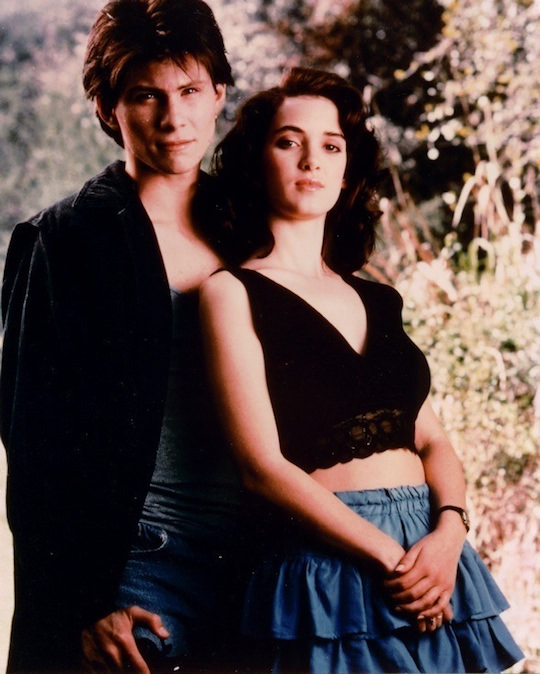 Publicity still from Heathers, 1988.