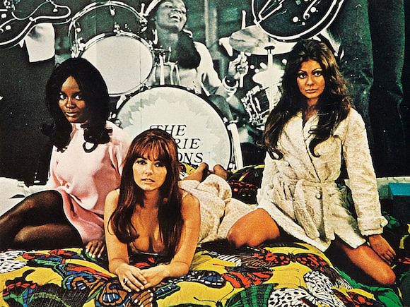 A still from Beyond the Valley of the Dolls, a movie co-written by Roger Ebert.
