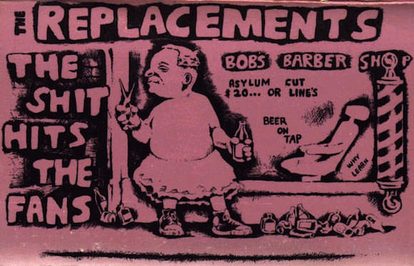The cover of a long lost tape by the Replacements.