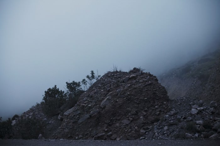Driving through clouds in Jujuy.
