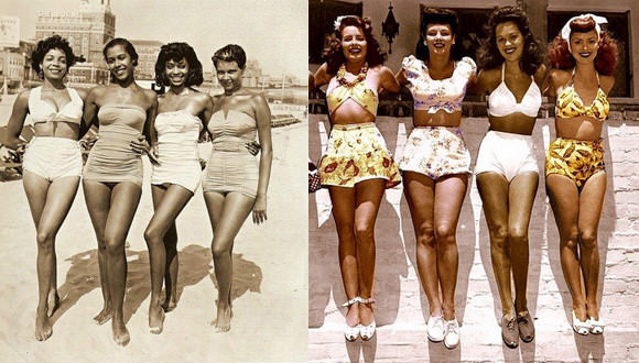 Vintage 50s swimsuits