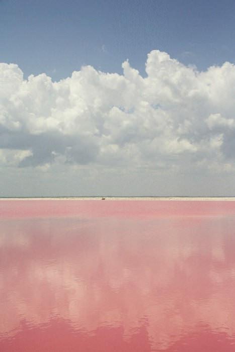 Lake Retba on Cap-Vert in Senegal, via LakeRetba.com.