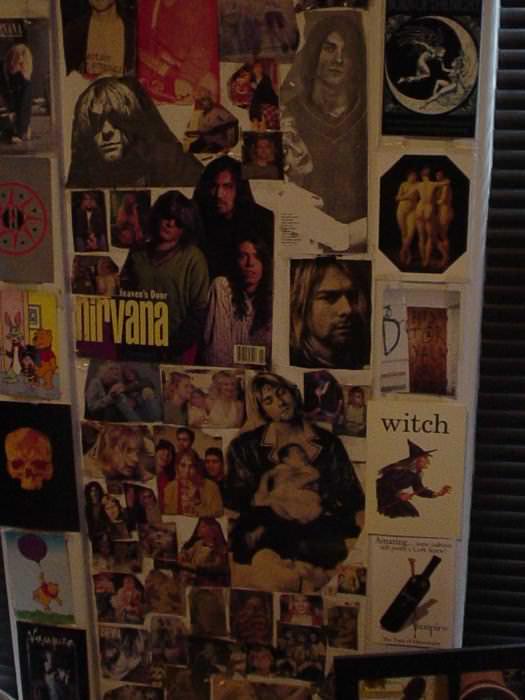 My wall.