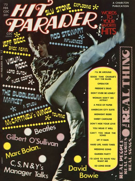 February 1973 issue of Hit Parader, via Retrospace.