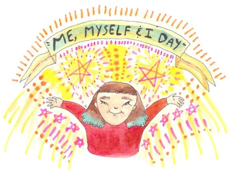 Sunday Comic: Me, Myself & I Day