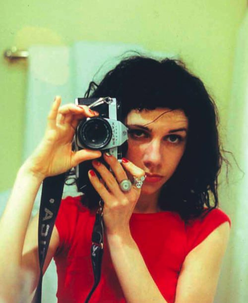 PJ Harvey, self-portrait.