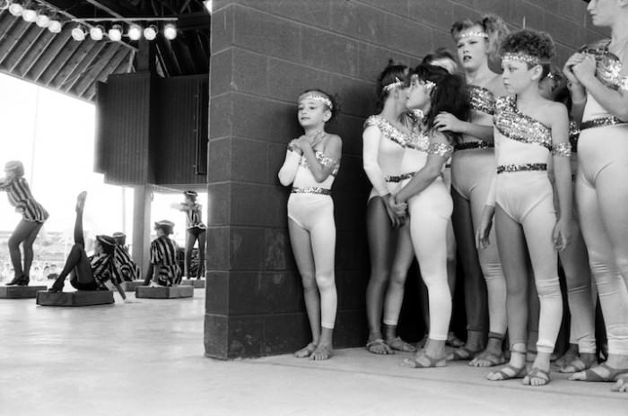 Talent Show, State Fair, Syracuse, New York, 1989 by Paul McDonough, via Sasha Wolf Gallery.