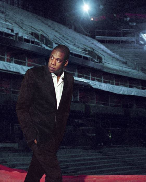Jay-Z photographed by  Cass Bird for the  New York Times.