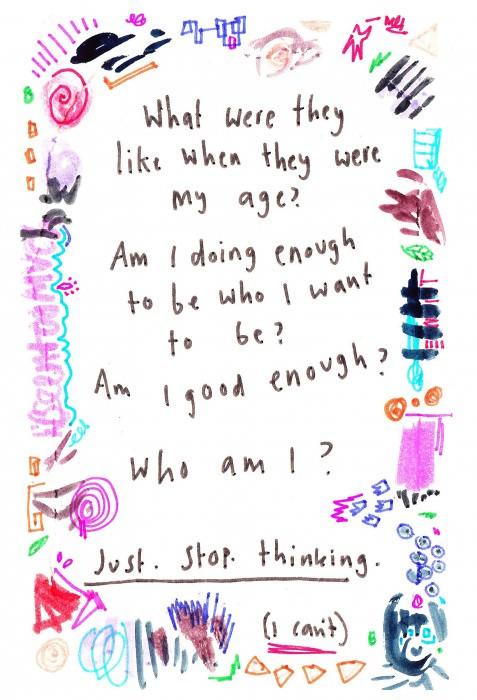 Caitlin's diary.