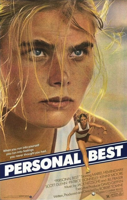 Poster for Personal Best, 1982.